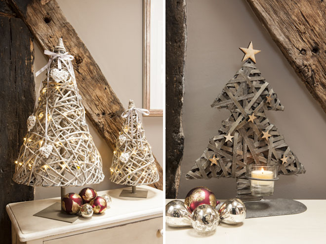 Decoraci n de navidad r stica y original clouds events Ideas rusticas para decorar la casa